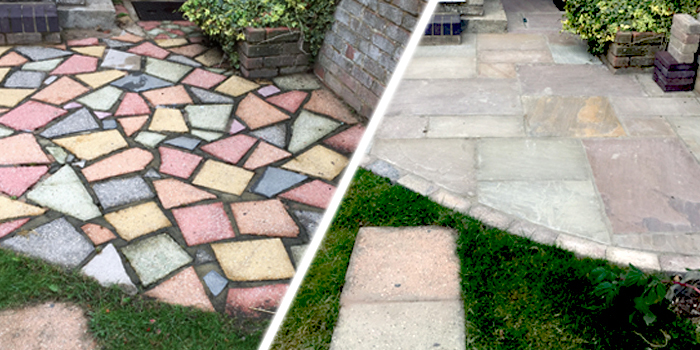 before and after paving replacement 1